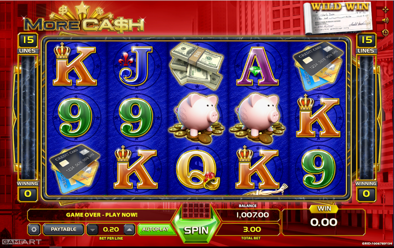 More Cash slot