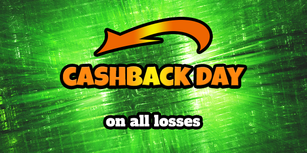 Cashback losses bonuses